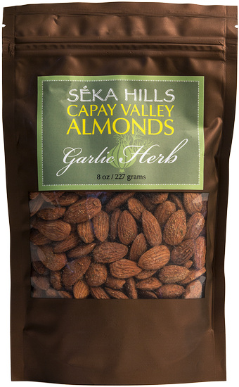 Garlic & Herb Almonds