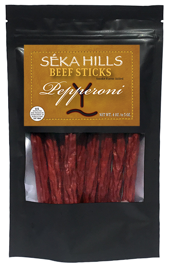 Pepperoni Beef Sticks