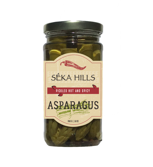 Pickled Hot and Spicy Asparagus