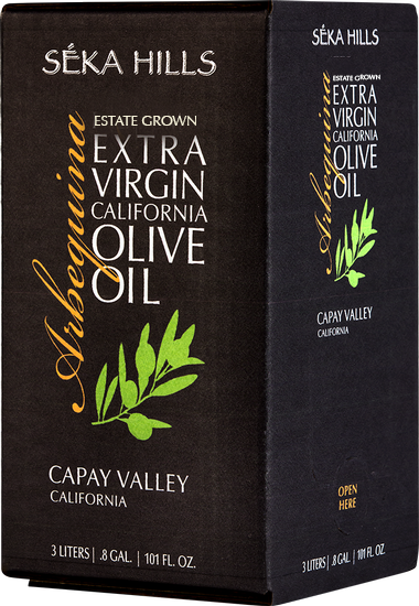 Estate Grown Arbequina Extra Virgin Olive Oil (3 Liter)