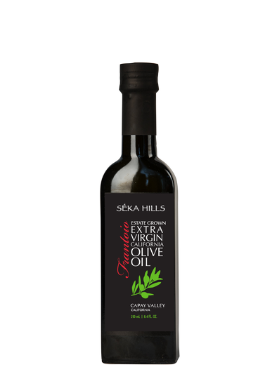 Estate Grown Frantoio Extra Virgin Olive Oil (250ml)